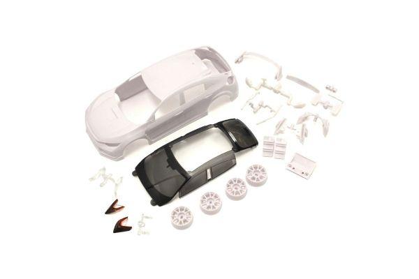 京商 Honda シビック タイプR ホワイトボディセット(未塗装/ホイール付) MZN194